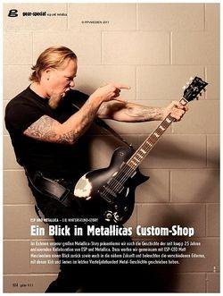 Guitar gear-special - ESP und Metallica: Ein Blick in Metallicas Custom