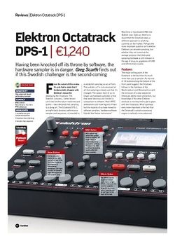 Future Music Elektron Octatrack DPS-1