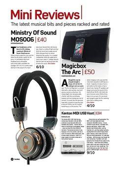 Future Music Kenton MIDI USB Host