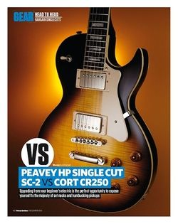 Total Guitar CORT CR250