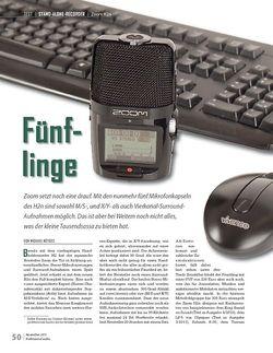 Professional Audio Zoom H2n