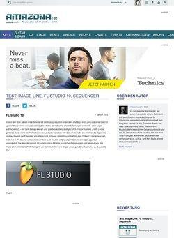 Amazona.de Test: Image Line, FL Studio 10, Sequencer