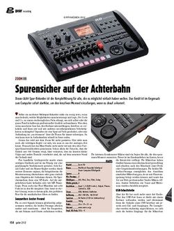 guitar Spurensicher auf der Achterbahn - Zoom R8