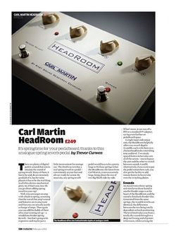 Guitarist Carl Martin HeadRoom