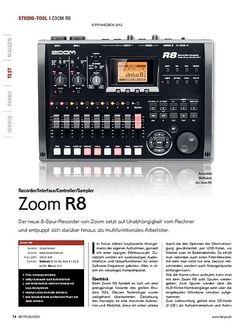 KEYS Zoom R8