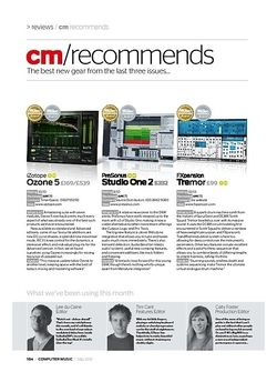 Computer Music PreSonus Studio One 2