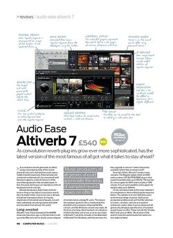 Computer Music Audio Ease Altiverb 7