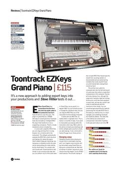 Future Music Toontrack EZKeys Grand Piano