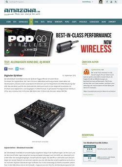 Amazona.de Test: Allen & Heath, Xone DB2, DJ Mixer