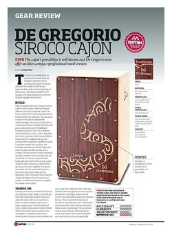 Rhythm De Gregorio Siroco Cajon