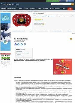Audiofanzine.com Line 6 [POD Series] POD X3