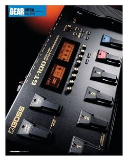 Total Guitar Boss GT-100