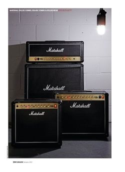Guitarist Marshall DSL100H