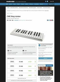 MusicRadar.com CME Xkey