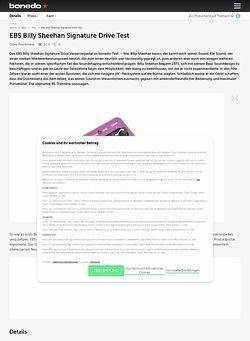 Bonedo.de EBS Billy Sheehan Signature Drive Test