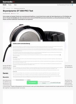 Bonedo.de Beyerdynamic DT-880 Pro