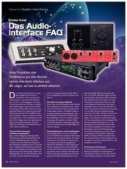 KEYS Special Audio-Interfaces
