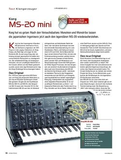 KEYS Korg MS-20 mini