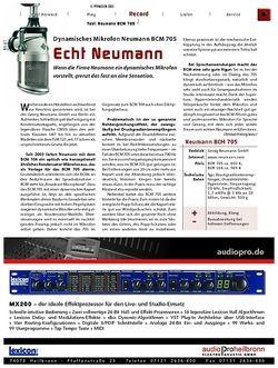 KEYS Test: Dynamisches Mikrofon Neumann BCM 705