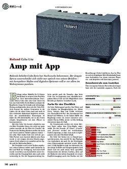 Guitar Gear amp: Roland Cube Lite