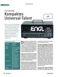 Soundcheck Engl Ironball E606