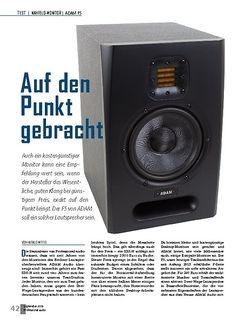 Professional Audio Adam F5