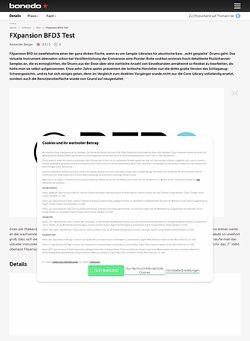 Bonedo.de FXpansion BFD3