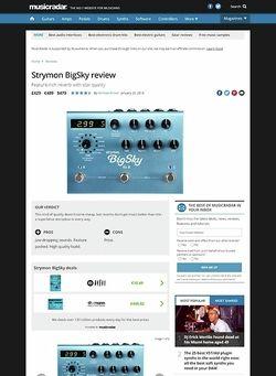 MusicRadar.com Strymon BigSky