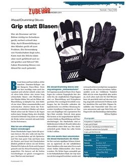 DrumHeads Ahead Drumming Gloves