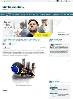 Amazona.de Test: Kaotica Eyeball, Reflexion Filter