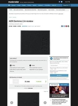 MusicRadar.com AER Domino 2.A