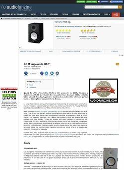 Audiofanzine.com Yamaha HS8