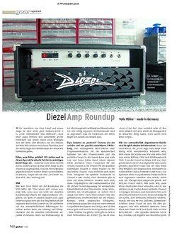 Guitar Test Special: Diezel Amps