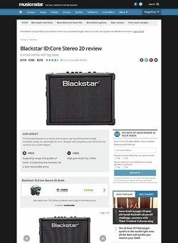 MusicRadar.com Blackstar ID:Core Stereo 20
