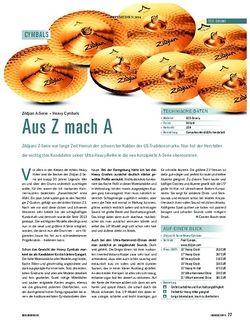 Soundcheck Zildjian A-Serie