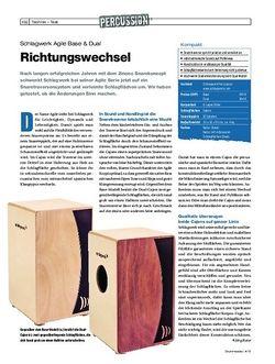 Drumheads Schlagwerk Agile Base & Dual Cajons