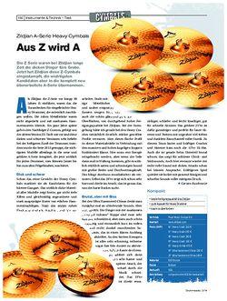 Drumheads Zildjian A-Serie Heavy Cymbals