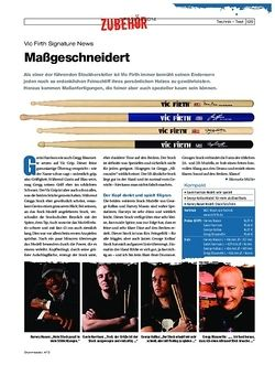 Drumheads Vic Firth Signature Sticks