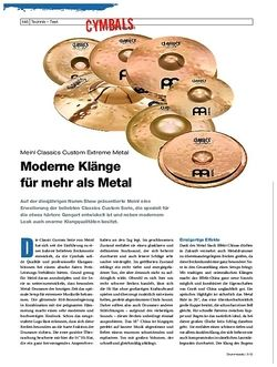 Drumheads Meinl Classics Custom Extreme Metal
