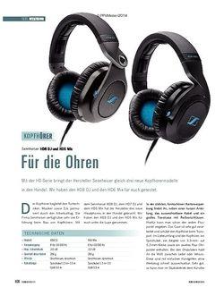 Soundcheck Sennheiser HD8 DJ und HD6 Mix