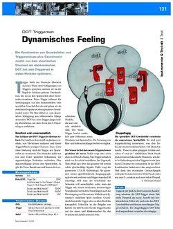 DrumHeads Instrumente & Technik: Test - DDT Triggerset