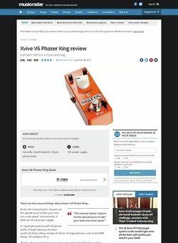 MusicRadar.com Xvive V6 Phaser King