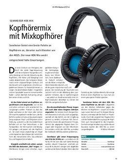 Recording Magazin Sennheiser HD6 Mix