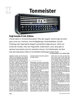 Gitarre & Bass Engl Invader II Ltd. Edition, Tube-Head