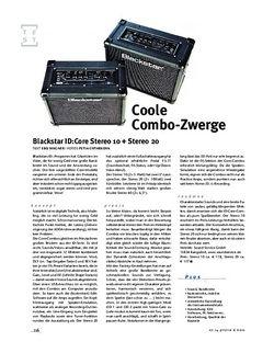 Gitarre & Bass Blackstar ID:Core Stereo 10 + Stereo 20