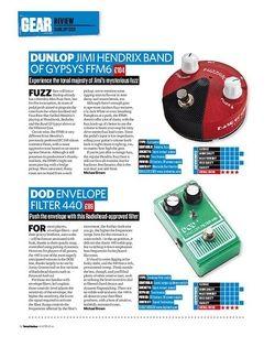 Total Guitar Dunlop Band Of Gypsys FFM6
