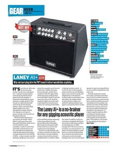Total Guitar Laney A1+