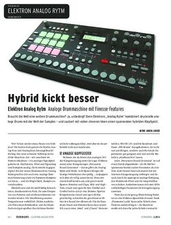 Keyboards Elektron Analog Rytm - Analoge Drummaschine mit Finesse-Features