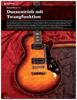Guitar Duesenberg 59er