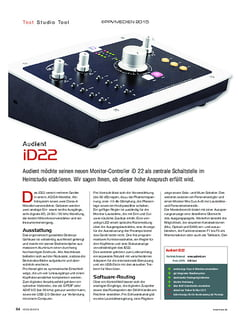KEYS Audient iD22